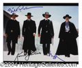 Autographs, Tombstone Kilmer/Russell/Paxton Signed Photo