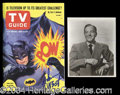 Autographs, Adam West Signed Batman TV Guide