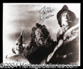 Autographs, Ray Bolger Signed Photo from The Wizard of Oz