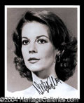 Autographs, Natalie Wood Rare Signed 8 x 10 Photo