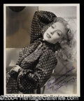 Autographs, Loretta Young Signed Vintage Photograph
