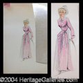 Autographs, Edith Head-Blonde with Pink Robe