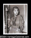 Autographs, Judith Anderson Signed 8 x 10 Photograph