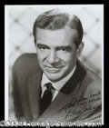 Autographs, Dana Andrews Signed 8 x 10 Photograph