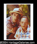 Autographs, Andy Griffith Show Nabors/Knotts Signed Photo