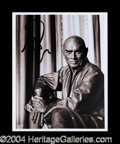 Autographs, Yul Brynner Signed Photo as King of Siam