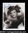 Autographs, Corinne Calvet Beautiful Signed Photo
