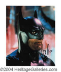 Autographs, George Clooney Signed Batman Photo