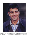 Autographs, George Clooney In-Person Signed Photo