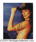 Autographs, Molly Culver Sexy Topless Signed Photo