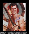 Autographs, Tony Curtis In-Person Signed Photo