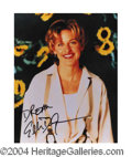 Autographs, Ellen De Generes In-Person Signed Photo