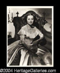 Autographs, Olivia de Havilland Signed 8 x 10 Photo
