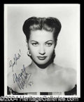 Autographs, Yvonne DeCarlo Stunning Signed Photograph