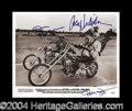Autographs, Easy Rider In-Person Cast Signed Photograph