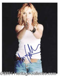 Autographs, Melissa Etheridge Rare Signed Photo