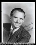Autographs, Douglas Fairbanks, Jr. Signed 8 x 10 Photograph