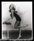 Autographs, Farrah Fawcett Signed 8 x 10 Photograph