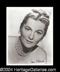 Autographs, Joan Fontaine Beautiful Signed Photo