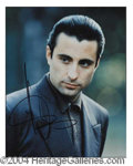 Autographs, Andy Garcia Signed Godfather Photo