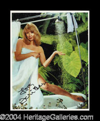 Teri Garr In-Person Signed Photograph - Est. 65 - 85
