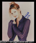 Autographs, Sarah Michelle Gellar In-Person Signed Photo