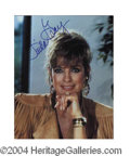 Autographs, Linda Gray In-Person Signed Photo