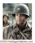 Autographs, Tom Hanks Signed 8 x 10 Photo