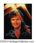 Autographs, David Hasselhoff In-Person Signed Photo
