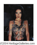 Autographs, Salma Hayek Incredible Signed Photo