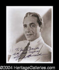 Autographs, Paul Henreid Signed 8 x 10 Photograph