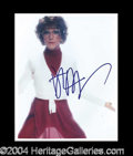 Autographs, Dustin Hoffman Tootsie Signed Photo