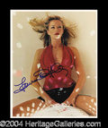 Autographs, Lauren Holly Attractive Signed 8 x 10 Photo