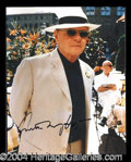 Autographs, Anthony Hopkins Signed Hannibal Photo