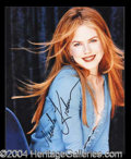 Autographs, Nicole Kidman In-Person Signed Photo
