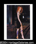 Autographs, Nicole Kidman Sexy Signed 8 x 10 Photo