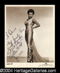 Autographs, Eartha Kitt Vintage Signed Photograph