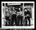 Autographs, Lash LaRue & Eddie Dean Signed Western Photo