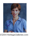 Autographs, Tea Leoni Signed 8 x 10 Photo