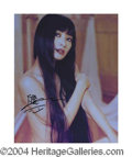 Autographs, Bai Ling In-Person Signed Photo