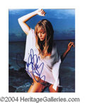 Autographs, Jennifer Lopez Sexy Signed Photo