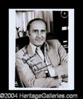 Autographs, Henry Mancini Signed 8 x 10 Photograph