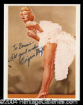 Autographs, Virginia Mayo Attractive Signed Photo