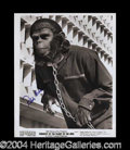 Autographs, Roddy McDowall Signed Planet of The Apes Photograph