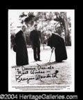 Autographs, Burgess Meredith Signed 8 x 10 Photograph
