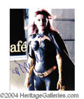 Autographs, Dina Meyer In-Person Signed 8 x 10 Photo
