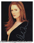 Autographs, Julianne Moore Provacative Signed Photo