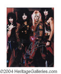 Autographs, Vince Neil Motley Crue Signed Photo