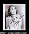 Autographs, Maureen O' Sullivan Signed 8 x 10 Photograph