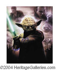 Autographs, Frank Oz Star Wars Yoda Signed Photo
